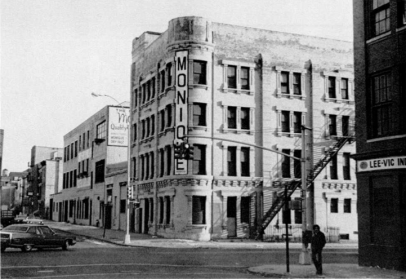 The building in the 1970's