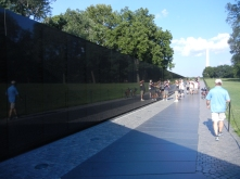 The Vietnam Memorial Wall, Washington, D.C.