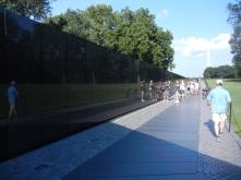 The Vietnam Memorial Wall, Washington, D.C.