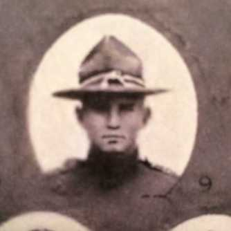 Pvt Thomas M. Kelly, 1918