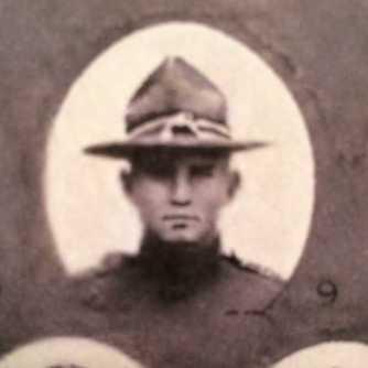 Pvt Thomas M. Kelly, 1918