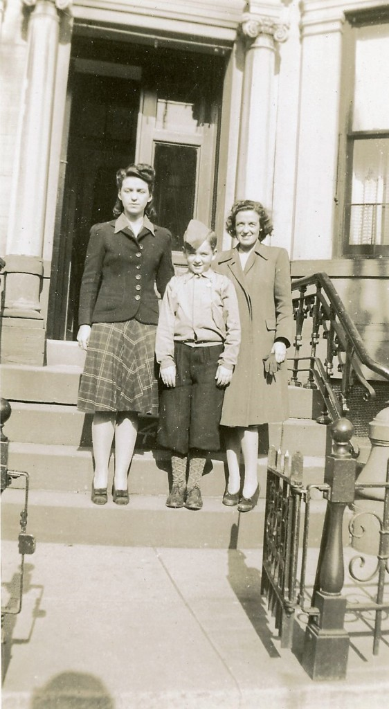 Eleanor (Aunt Cookie) Flood, Jerry and Alice Baumann