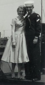 My parents, Regina Ellen Kelly and Jerry Baumann while they were dating in the mid 1950s